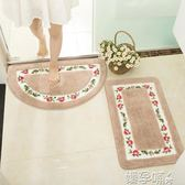 門墊【浴室套裝】衛生間門口防水墊子地墊吸水防滑墊洗手間腳踏墊家用LX 【熱賣新品】