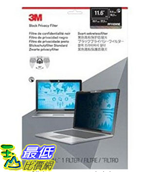 [美國直購] 3M PF116W9E 螢幕防窺片 Privacy Screen Protectors 11.6 Touch Laptop Filter ,273 mm x 163 mm