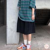 大碼加大運動短褲男夏季復古寬鬆五分中褲短褲【大碼百分百】