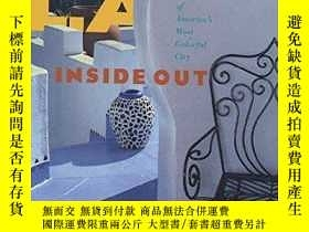 二手書博民逛書店L.罕見A. Inside Out: the Architect