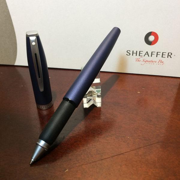 西華SHEAFFER SF-126RB 捷銳系列 鋼珠筆 - 藍桿