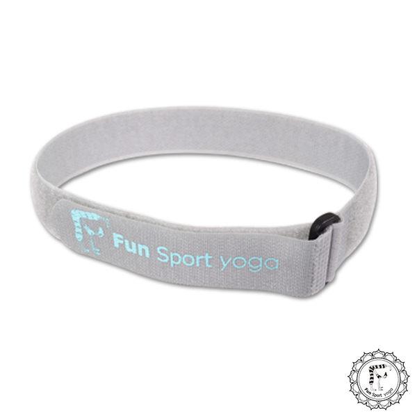 《Fun Sport》立樂束瑜珈墊收納帶(3條)-魔鬼氈扣環式束帶(厚度8mm以下瑜珈墊適用)顏色隨機出貨