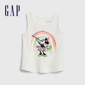 Gap女幼Gap x Disney 迪士尼系列米妮棉質舒適印花無袖上衣539760-米妮老鼠圖案