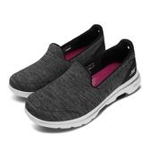 Skechers 休閒鞋 Go Walk 5-Honor Wide 黑 白 女鞋 建走鞋 懶人鞋 舒適緩震 運動鞋【ACS】 15903WBKW