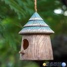 仿真鳥 戶外花園裝飾 庭院 院子陽臺裝飾 創意 園藝仿真鳥窩樹上裝飾掛件 維多原創