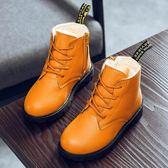 兒童鞋子 童鞋女童靴子秋冬季新款女孩馬丁靴公主小短靴加絨兒童雪地靴【韓國時尚週】