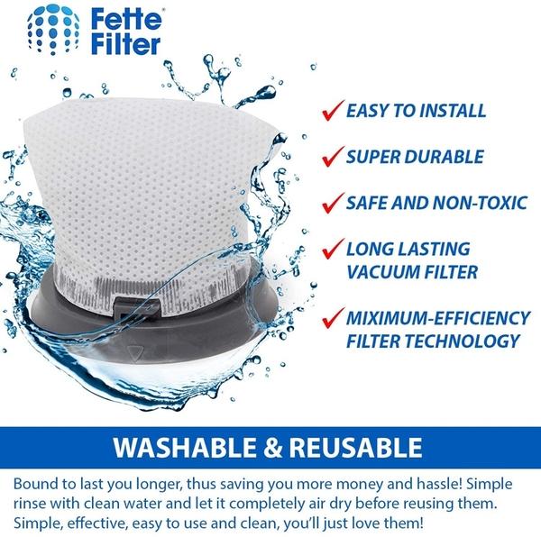 [2美國直購] 過濾器 Fette Filter Hand Vacuum Filter Compatible with Bissell