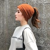 頭巾帽 帽子女時尚秋冬韓版雙用瓜皮帽套頭帽月子帽包頭水手帽 萬客居