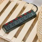 免運費 DIKE 工業級鋁合金 過載防護 六開五座 電源延長線/延長線/排插線 (2.7M) DAH259