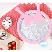 炒冰機 炒酸奶機家用小型免插電兒童炒冰盤炒冰淇淋可捲迷你炒冰機T 1色