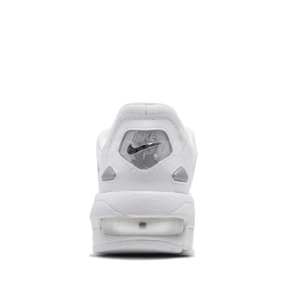 Nike 復古慢跑鞋 Air Max 2 Light 白 全白 氣墊 男鞋 運動鞋 【PUMP306】 AO1741-102
