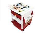 【震撼精品百貨】Micky Mouse_米奇/米妮~迪士尼 米奇台灣授權 韻律收納櫃-紅#38773