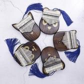 拇指琴卡林巴琴17音初學者kalimba琴兒童禮物創意卡通樂器手指琴 青木鋪子