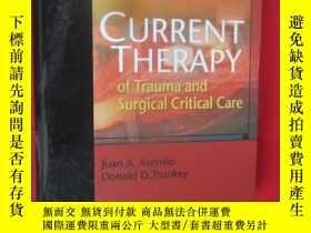 二手書博民逛書店Current罕見Therapy of Trauma and S