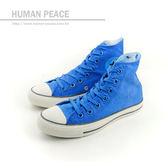 CONVERSE Chuck Taylor All Star 帆布鞋 高筒 藍 男女鞋 UNISEX 147014C no158