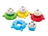 日本《樂雅 Toyroyal》洗澡玩具-水上動物組