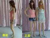 婚紗PE女模特全身服裝店模特道具人體女男模特送假發送底盤zg【好康618】