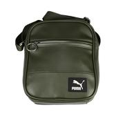 Puma Originals Portable 小側背包-斜背包 肩背包 墨綠
