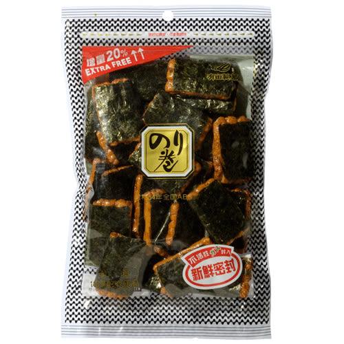 有田卷海苔卷米果70g【愛買】