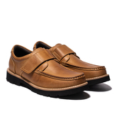 Waltz-經典粘式男休閒鞋622184-56土黃