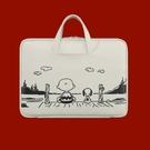 筆電包 手提拉桿電腦包帶拉桿好看可愛創意簡約筆記本包包【快速出貨八折下殺】