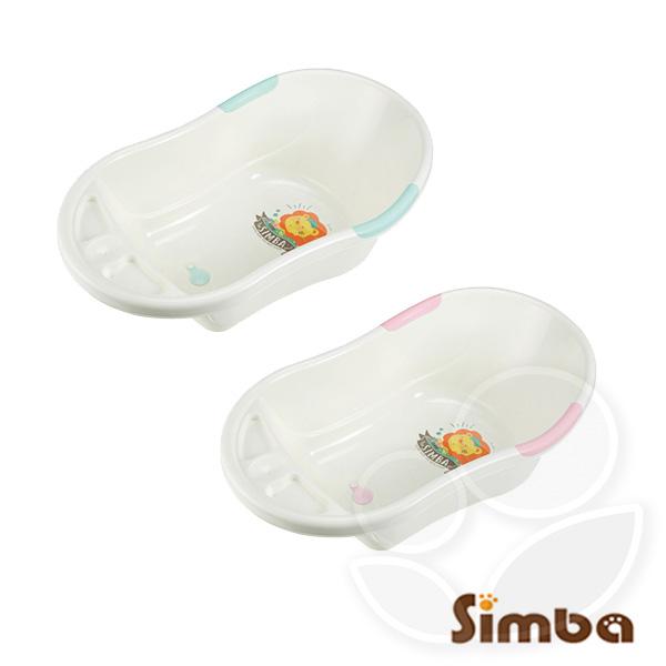 Simba 小獅王辛巴 嬰兒防滑浴盆 - 凱特藍/麗芙粉【佳兒園婦幼館】