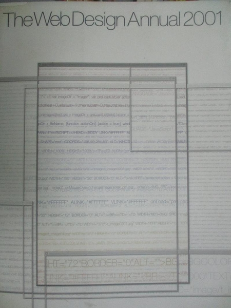 【書寶二手書T5/網路_PLT】The Web Design Annual 2001_GRAPHIC-SHA