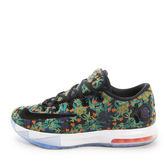 Nike KD VI EXT QS [652120-900] 男鞋 籃球 運動 緩震 輕盈 Durant 綠 黑