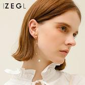 星星流蘇長款耳墜耳鍊女氣質韓國耳飾個性耳釘適合圓臉顯瘦的耳環               蜜拉貝爾
