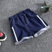 小童男童褲子夏裝外穿兒童牛仔短褲嬰兒五分褲女寶寶中褲潮 全館免運