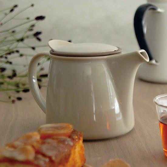 KINTO Brim 茶壺450ml(共二色) 下午茶 泡茶 品茗器具 全瓷 聚會休閒 好生活