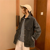 百搭網紅牛仔外套女寬鬆韓版bf學生情侶款夾克 - 風尚3C