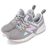 【六折特賣】New Balance 休閒鞋 574 NB 灰 紫 麂皮鞋面 越野跑鞋 運動鞋 女鞋【ACS】 WS574PRCB