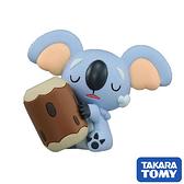 【日本進口】樹枕尾熊 Komala 寶可夢 造型公仔 MONCOLLE-EX 神奇寶貝 TAKARA TOMY - 968566