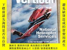 二手書博民逛書店Vertical罕見THE PULSE OF THE HELICOPTER INDUSTRYY242183