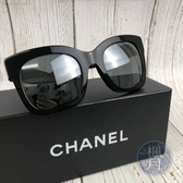 BRAND楓月 CHANEL 香奈兒 黑色 PVC 經典 外雙C LOGO 粗框 墨鏡 太陽眼鏡 配件