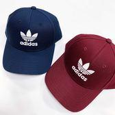 IMPACT Adidas Trefoil Cap 深藍 酒紅 老帽 棒球帽 三葉草 男女 DV0174 DV0175