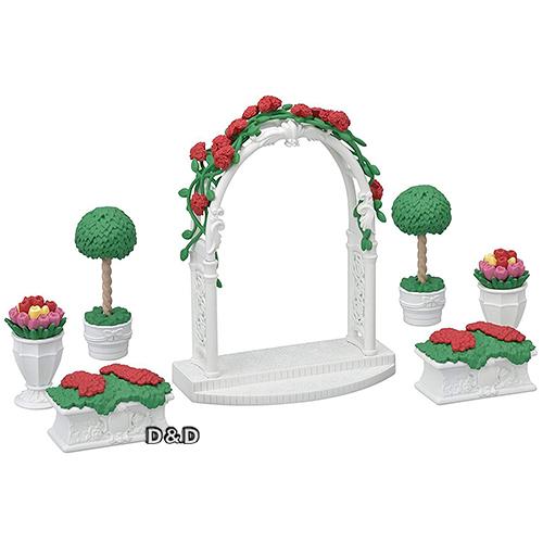 《森林家族-日版》城鎮 TOWN 系列 - 花卉拱門組  /  JOYBUS玩具百貨