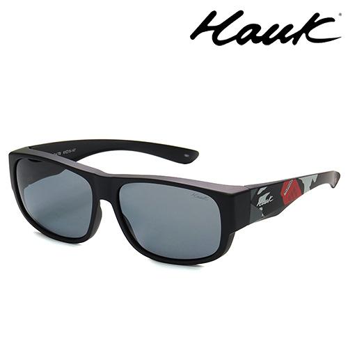 HAWK偏光太陽套鏡(眼鏡族專用)HK1010UK-TB