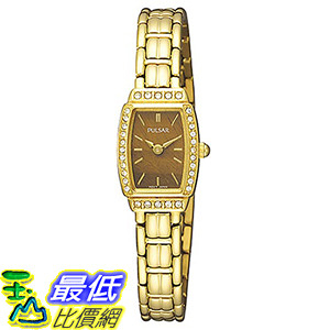 [美國直購 ShopUSA]Pulsar Crystal PEGE60 Womens Watch$4307