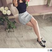 臧芮軒。滿版親膚格紋修身褲裙--適 XL~5L OrangeBear《BA5498》