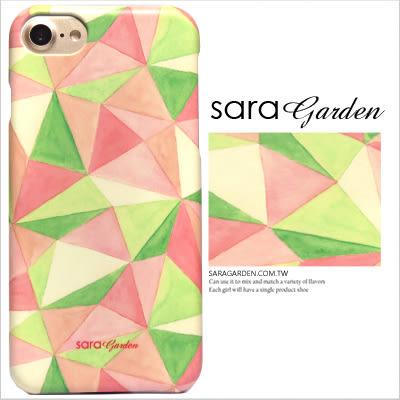 3D 客製 水彩 撞色 三角 iPhone 7 6 6S Plus 5S SE S7 Note7 10 M9+ A9 626 zenfone3 C5 Z5 Z5P M5 X XA G5 G4 J7 手機殼