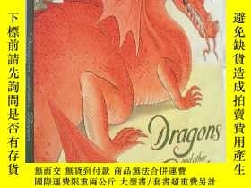 二手書博民逛書店Dragons罕見and Other Beasts (平裝大開本