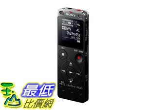 日本直購 Sony stereo IC recorder 4GB with FM tuner Black ICD-UX560F / B