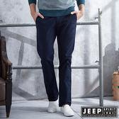 【JEEP】美式經典卡其褲(深藍)