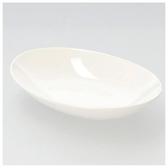 橢圓皿 20cm JXB461-04 白色系餐具 NITORI宜得利家居