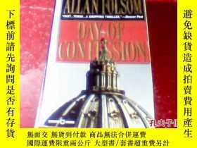 二手書博民逛書店外文原版Allan罕見Folsom Day of Confess