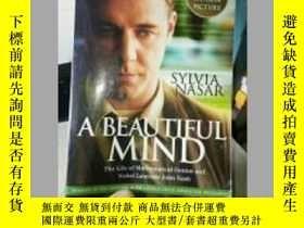 二手書博民逛書店A罕見Beautiful Mind:The Life of Mathematical Genius and Nob