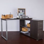 康迪仕L型書桌 (採E1板材) 120x120x75.4cm