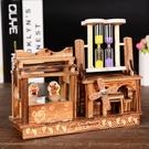 創意木質音樂盒旋轉跳舞音樂盒男女生有意義【七月特惠】